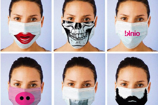 masque anti grippe jetable