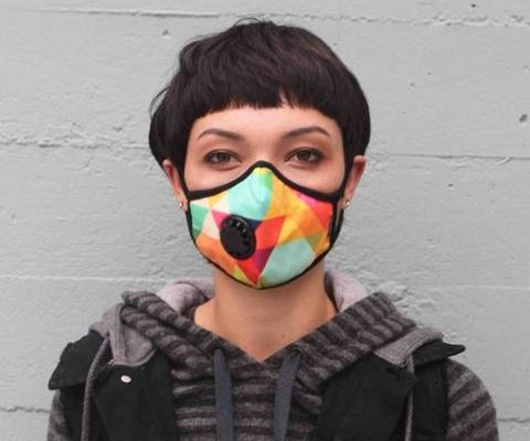masque anti pollution tissu