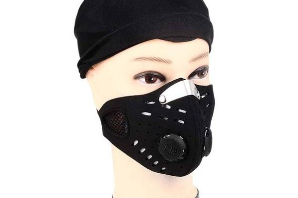 masque pollution sport