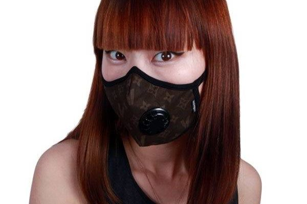 masque anti pollution violet pas cher